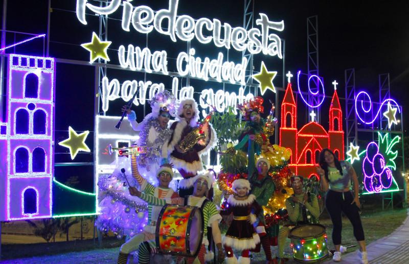 En estas festividades: ¡Brilla el 'Municipio Garrotero'!