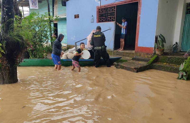 Ayuda para la población de Tres Bocas, Tibú, en Norte de Santander