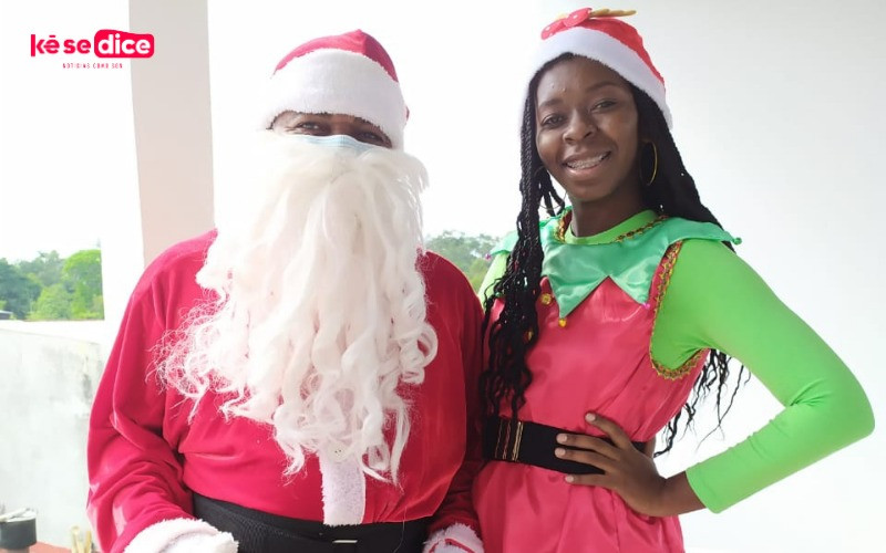 Un profesor en Cimitarra, Santander, llevó la magia de la navidad a sus chicos