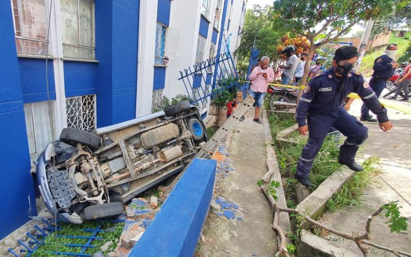 Impresionante accidente en el 'Municipio Garrotero'