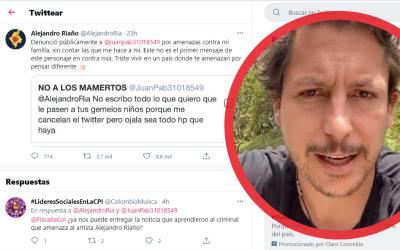 Amenazaron a 'Juanpis González' y sus gemelos