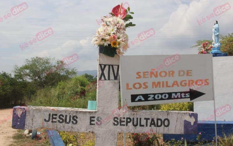 Poca asistencia al Viacrucis del Corregidor en Girón