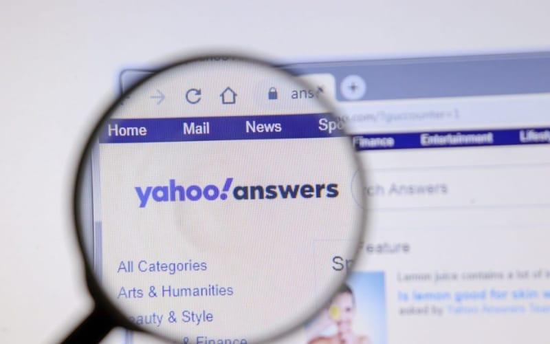 Yahoo ya no le dará respuestas al mundo