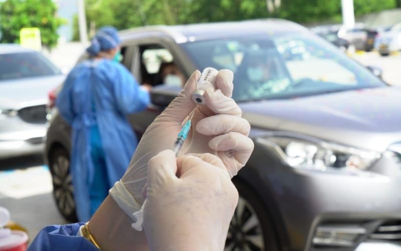 Vacunación 'Sobre Ruedas' en el Anillo Vial