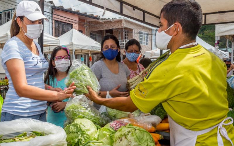 Participe del Segundo Mercado Campesino 'garrotero'