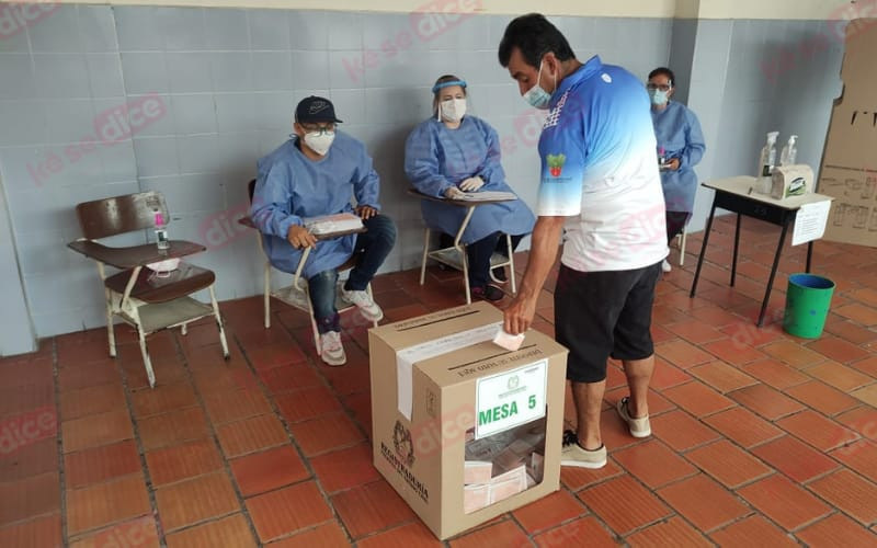 Elecciones atípicas en Girón transcurren en calma