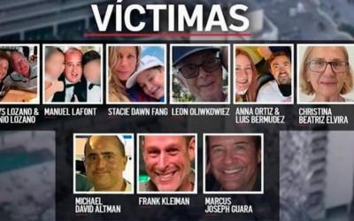 Identificadas 11 de las víctimas mortales en Miami