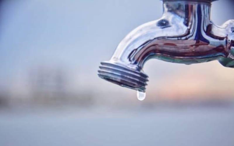 Suspensión del agua en barrios de Piedecuesta