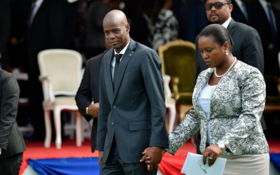 Audio de primera Dama de Haití señala a mercenarios