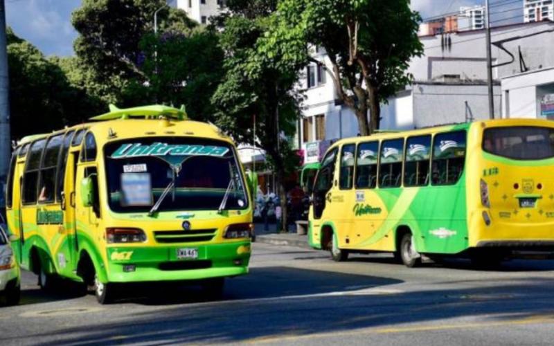 Dos rutas de bus más económicas en Bucaramanga
