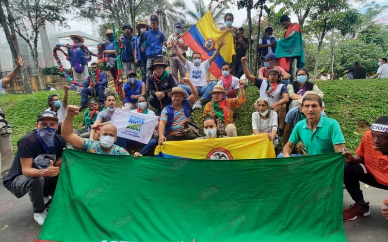 """""""Las juventudes no están solas"""" Representante de la Minga en Bucaramanga"""
