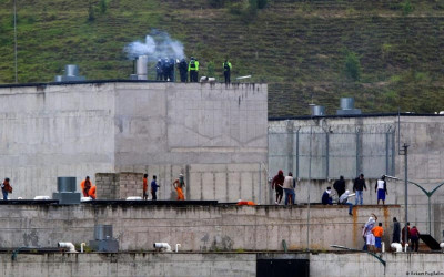 Violentas revueltas en cárceles de Ecuador