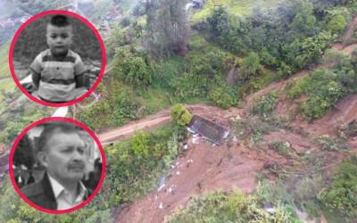 Mueren sepultados por avalancha un bebé y su abuelo