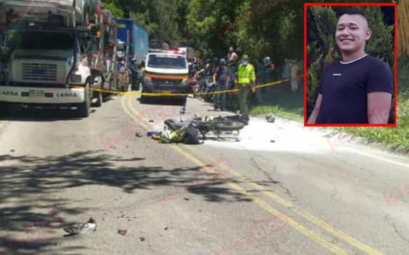 Murió el otro motociclista implicado en accidente en Curití
