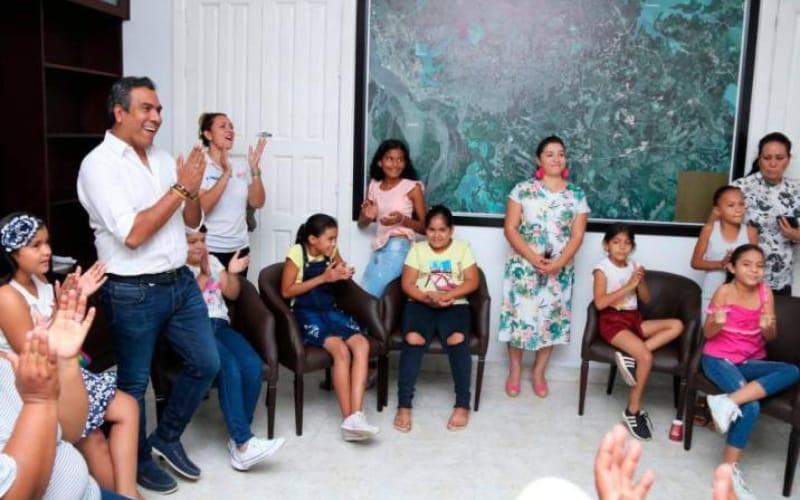 A la Nasa irán 13 niñas en condición vulnerable de Santander