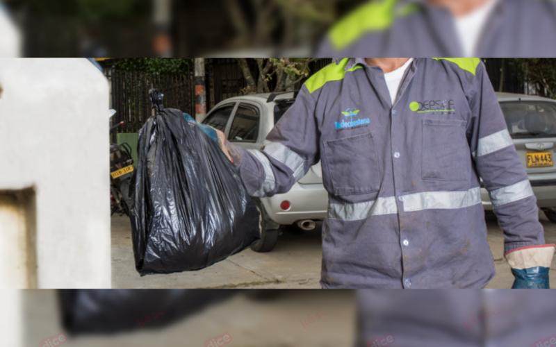 Recolección anticipada de basuras por cierre de El Carrasco
