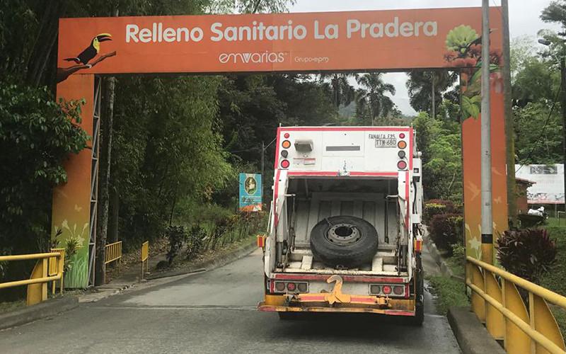 Residuos de Floridablanca irán por ahora a Antioquia