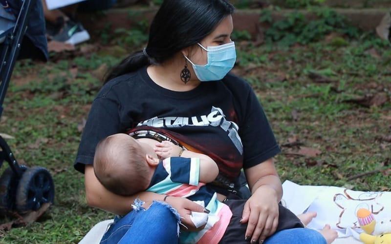 Reconocen a Piedecuesta por campaña de lactancia materna