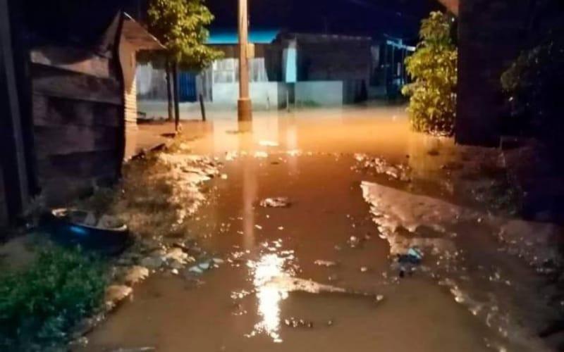 Despertaron con el agua encima en Barrancabermeja