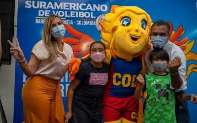 El 'Puerto' será sede del Suramericano de Voleibol