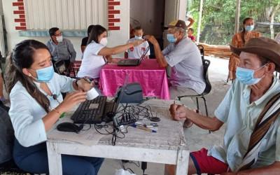 Entregaron 'Colombia Mayor' en veredas de Girón