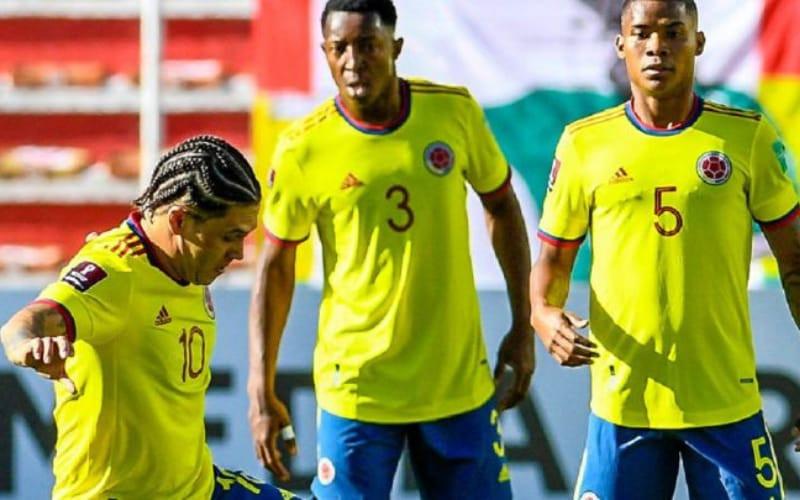 Colombia va con toda frente a Chile en eliminatorias