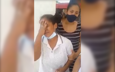 Bala perdida mató a niña y dejó a su hermana herida