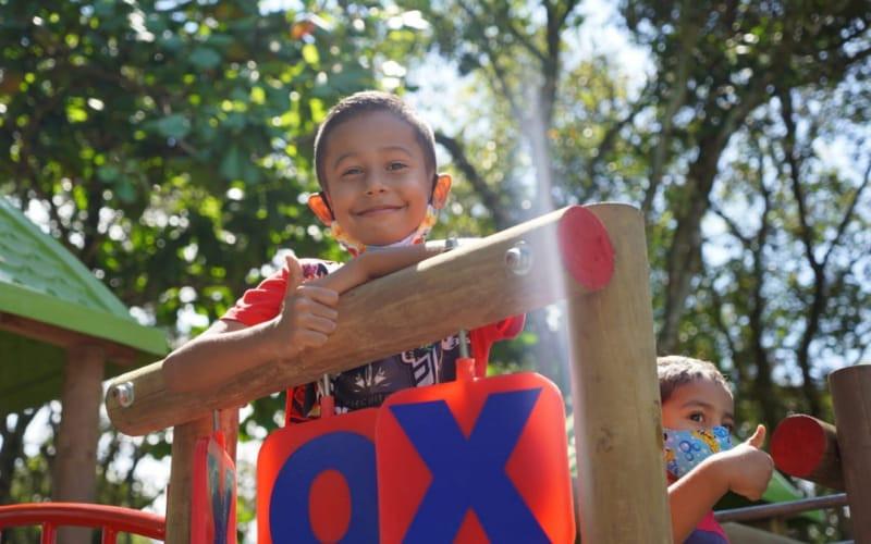 En Zapamanga V tienen nuevo parque infantil
