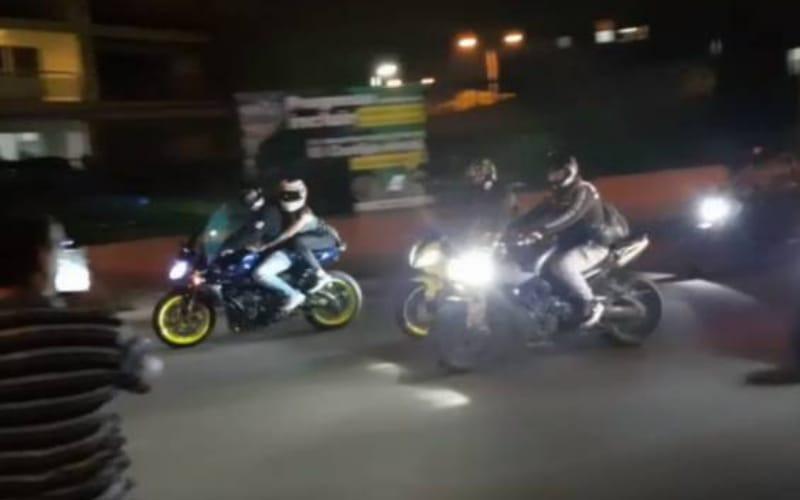 Gironeses reportan carreras clandestinas de motos