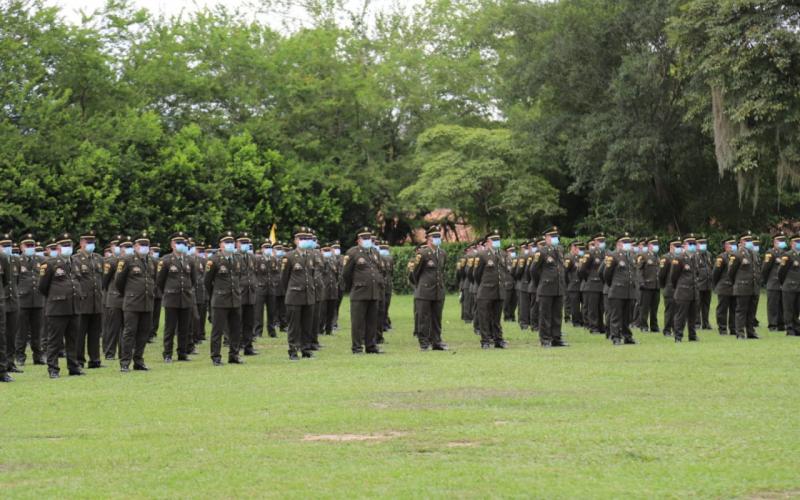 Ceremonia de Ascenso de Mandos en la Policía