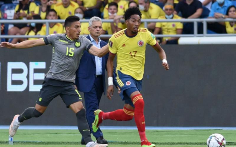 Colombia quedó en empate 0-0 con Ecuador