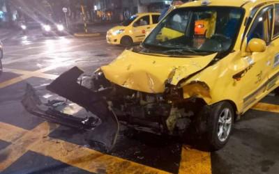 Más conductores accidentados en Bucaramanga
