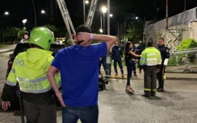Se registró accidente múltiple en la Puerta del Sol