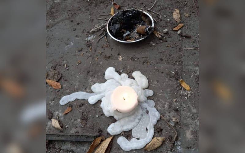 ¿Rituales satánicos en la Casa Custodio García Rovira?