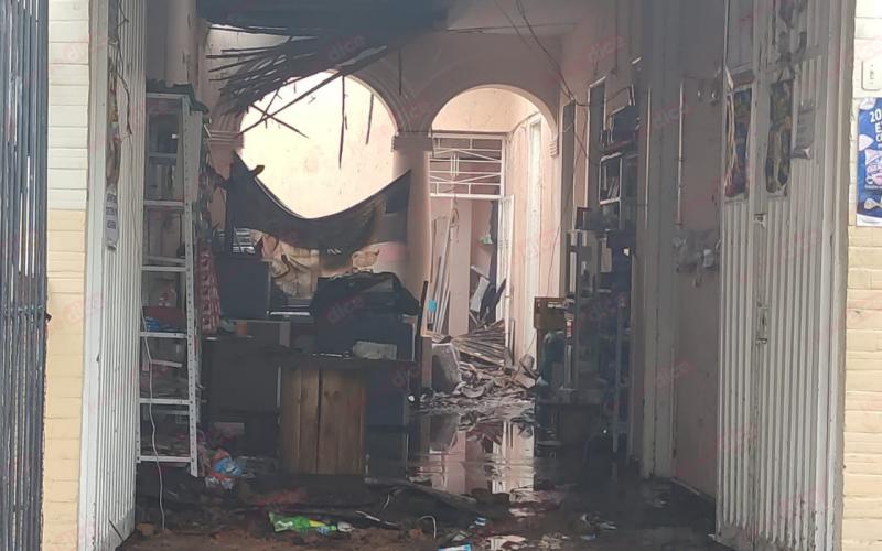 Dos muertos en incendio de fundación en Bucaramanga