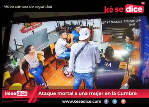A la cárcel por homicidio en La Cumbre (Vídeo registró el ataque)