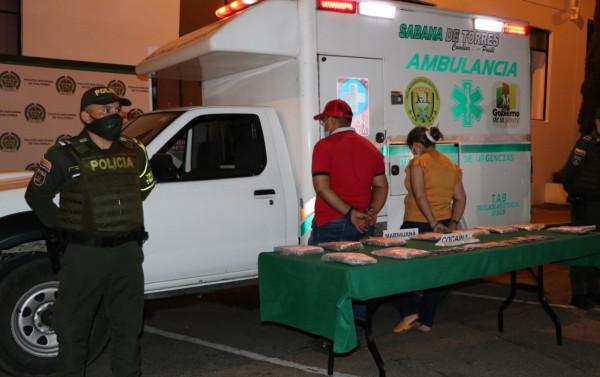Cae 'narco-ambulancia' en Lebrija