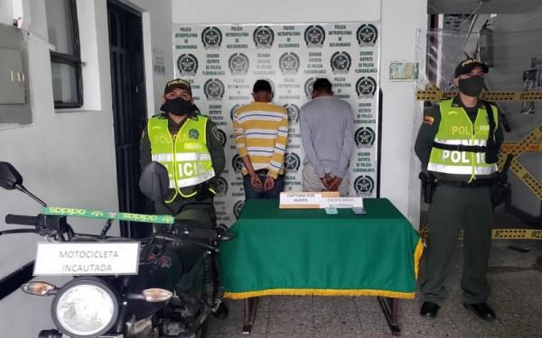 'Azotaban' con robos en Floridablanca