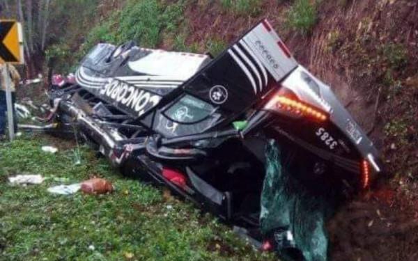 El accidente no los dejó pasar de 'La Raya' a la Costa
