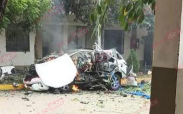 Carro bomba estalló en cantón militar en Cúcuta