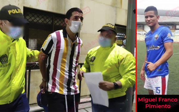 A la cárcel presunto homicida de futbolista en Bucaramanga